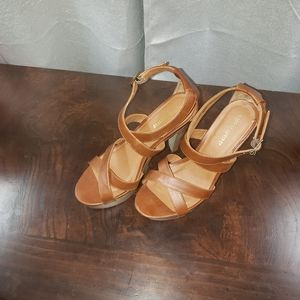 Mossimo supply co. Wood heels